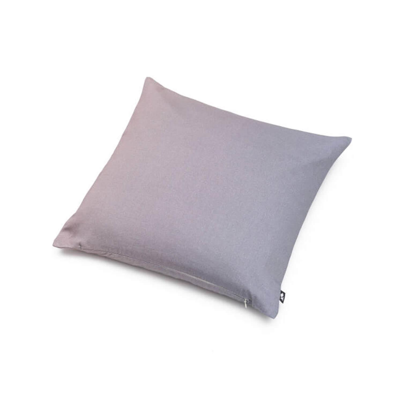 Baumwolldecke Grau-Lila