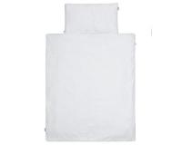 Kinderbettwäsche Kreise grau/ weiß in 90x120 cm und 100x135 cm