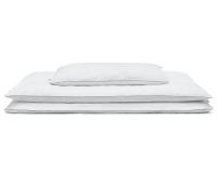 Hochwertige Kinderbettwäsche Kreise grau/ weiß günstig online kaufen