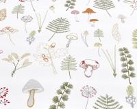 Baumwoll-Kinderbettwäsche grüne Wald auf klassischem weiß