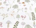 Baumwoll-Bettwäsche grüne Wald auf klassischem weiß