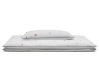Hochwertige Bettwäsche Abstrakt bunt/ weiß günstig online kaufen
