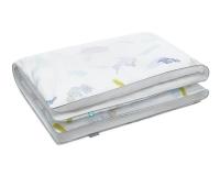 Baumwoll Kinderbettbezüge Pastell bunt/ weiß
