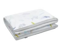 Baumwoll Bettbezüge Pastell bunt/ weiß