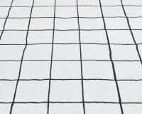 Baumwoll-Kinderbettwäsche mit schwarz Karo auf klassischem weiß