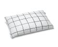 Baumwoll Bettbezüge kariert schwarz/ weiß