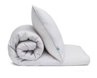 Schöne Kinderbettwäsche Striche grau/ gelb auf weiß aus zertifizierter Baumwolle