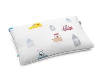 Baumwoll-Kinderbettwäsche Hexagon mit bunten Autos und lustigen Motiven auf klassischem weiß