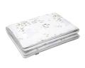 Natur Kinderbettwäsche mit bunten Landschaftsmotiven auf weiß aus Baumwolle hochwertig