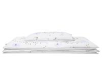 Hochwertige Bettwäsche mit bunten Landschaftsmotiven auf weiß günstig online kaufen