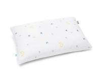 Baumwoll Kinderbettbezüge mit Mond und Sternen Grafik auf weiß