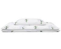 Hochwertige Bettwäsche Blumen mit weißen Lilien auf weiß günstig online kaufen