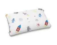 Baumwoll-Bettwäsche Weltall mit Astronauten und Raketen auf klassischem weiß
