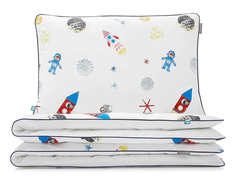 bettw sche weltall mit astronauten und raketen. Black Bedroom Furniture Sets. Home Design Ideas