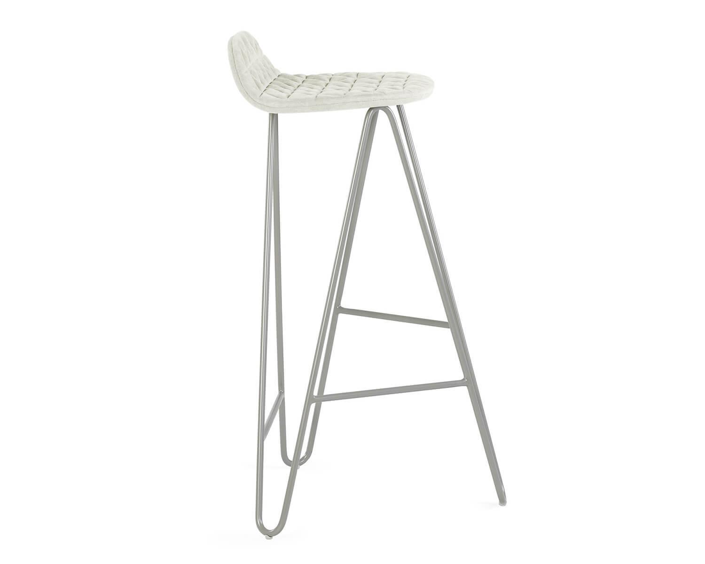 design barstuhl mannequin 02 mit schwungvoll gebogenem untergestell. Black Bedroom Furniture Sets. Home Design Ideas