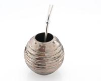 Handgemachter Mate Tee Becher Kalebasse