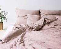 Altrosa Baumwoll Bettwäsche PURE für ein himmlisches Schlafklima