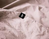 Schöne Bettwäsche PURE aus Perkal Baumwolle in altrosa