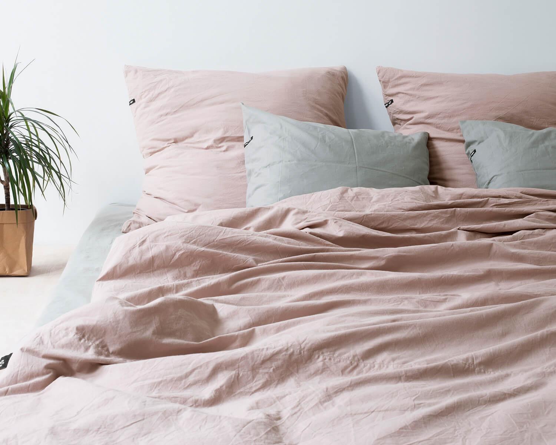 Bettwäsche Altrosa Pure Aus Natürlichem Baumwollperkal