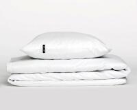 Bettwäsche weiß PURE aus Perkal Baumwolle