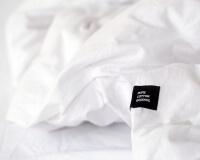 Perkal Bettwäsche weiß aus reiner Baumwolle