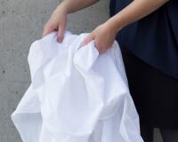 Weiße Perkal Bettwäsche im klassischen weiß