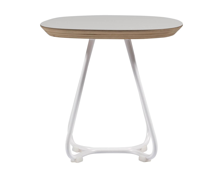 maple m08 kleiner beistelltisch und designer hocker von iker farbe wei. Black Bedroom Furniture Sets. Home Design Ideas