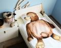 Bettwäsche mit Aquarell Teddybär für Kinder