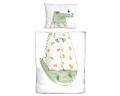 Krokodil Bettwäsche für Kinder aus zertifizierter Baumwolle