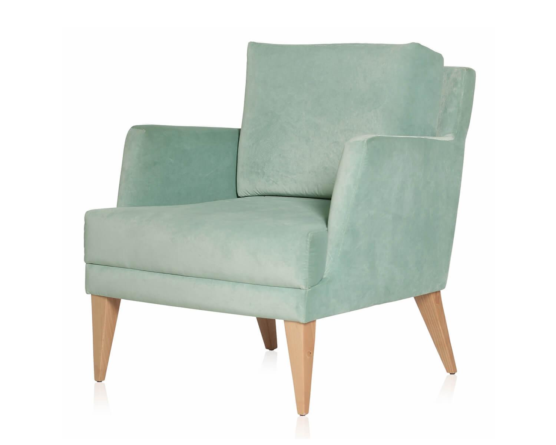 retro sessel old school velvet iker im stil der 50er und 60er jahre farbe hellmint. Black Bedroom Furniture Sets. Home Design Ideas
