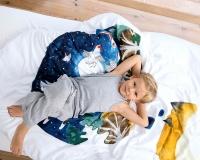 Kinderbettwäsche mit Fuchs Aufdruck
