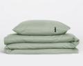 Perkal Kinderbettwäsche in salbeigrün von HOP Design