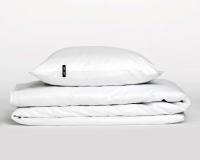 Perkal Kinderbettwäsche in weiß von HOP Design