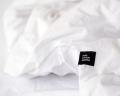 Warme Kinderbettwäsche aus 100% Baumwolle in weiß