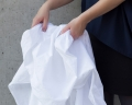 Baby Bettwäsche 90x120 cm in moderner Unifarbe weiß