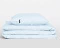 Perkal Kinderbettwäsche in hellblau von HOP Design