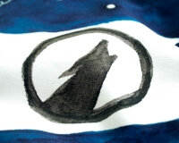 Wolf Kinderbettwäsche