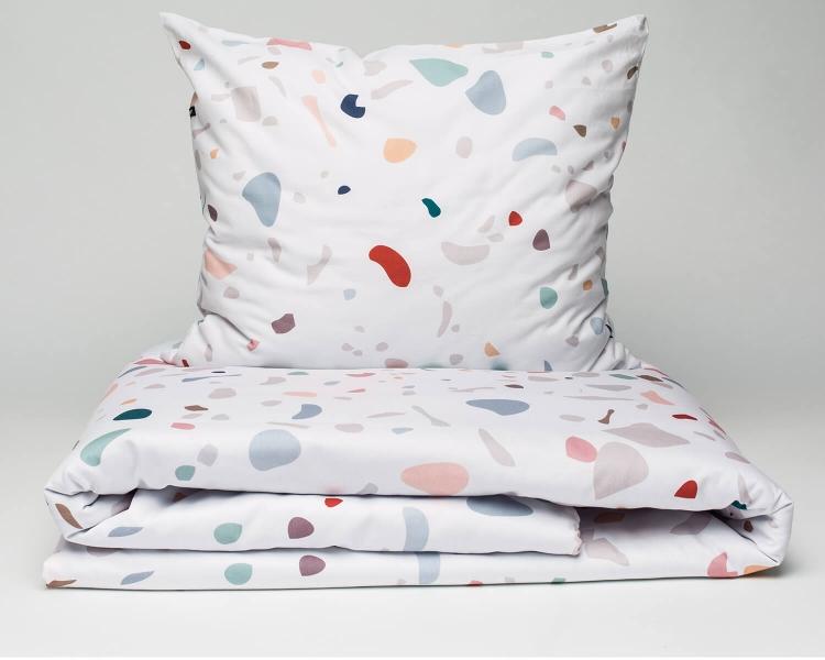 Terrazzo Kinderbettwäsche von HOP Design
