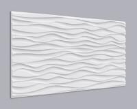 3D Wandpaneel Holz 007 mit stürmischem Wellen Muster
