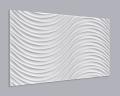 3D Wandpaneel MDF 014 mit Schwingungen Muster