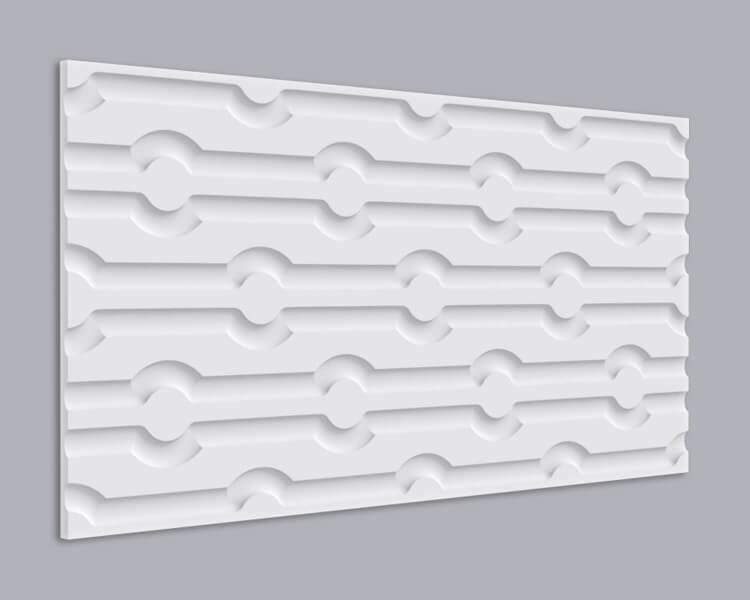 3D Wandpaneel MDF 018 mit Chip Muster