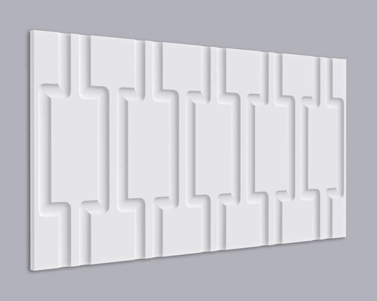 3D Wandpaneel MDF 021 mit Rechteck Muster