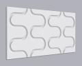 3D Wandpaneel MDF 024 mit Schwing Muster