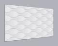 3D Wandpaneel MDF 036 mit Wellen Muster