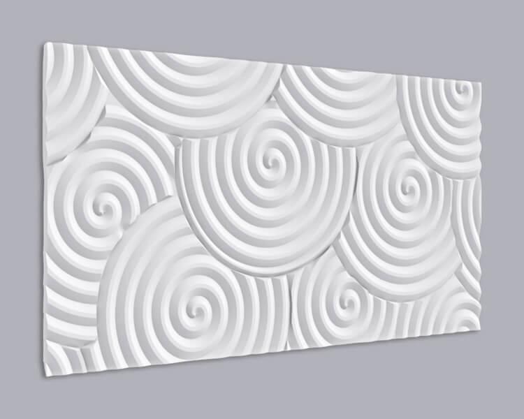 3D Wandpaneel MDF 040 aus MDF-Holz