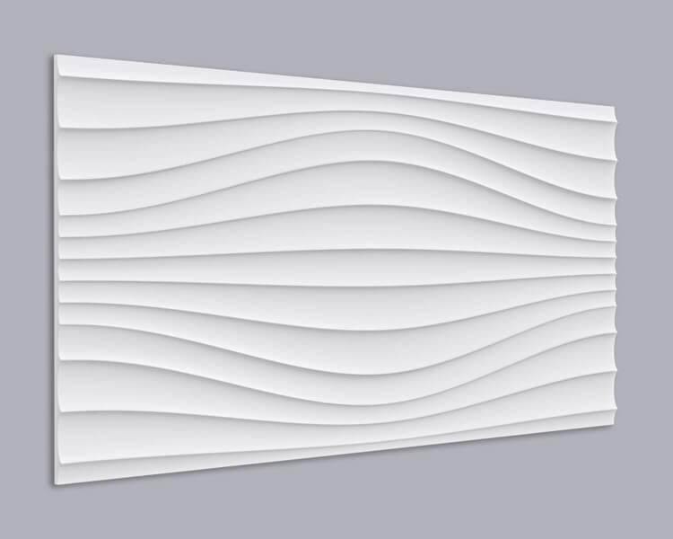 3D Wandpaneel MDF 042 aus MDF-Holz
