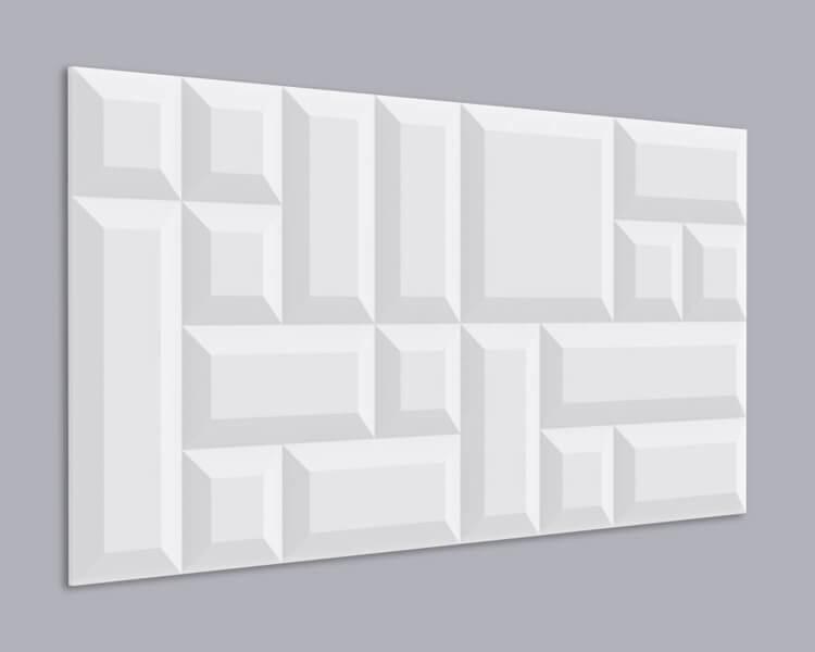 3D Wandpaneel MDF 049 aus MDF-Holz