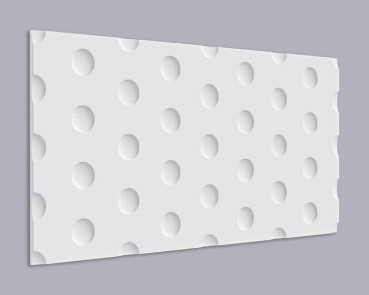 3D Wandpaneel MDF 050 aus MDF-Holz