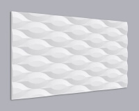 3D Wandpaneel MDF 053 aus MDF-Holz