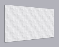 3D Wandpaneel MDF 062 aus MDF-Holz